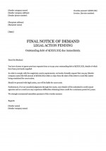 Letter of Demand Templates Template at Collect It NOW